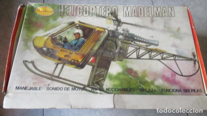 Madelman: Helicoptero Madelman. Madel . con su caja TZ - Foto 14 - 117022787