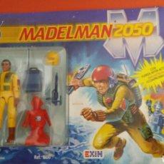Madelman: MADELMAN 2050 ZAN COMANDANTE HOMBRES COTA.CON COMIC. REF. 1500.EXIN 1988.NUEVO.. Lote 148218829