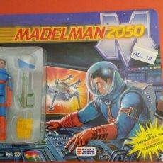 Madelman: MADELMAN 2050 DARMAN MECÁNICO Y PILOTO PRUEBAS HOMBRES COTA CON COMIC REF. 1501 EXIN 1988.NUEVO.. Lote 148219084
