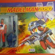 Madelman: MADELMAN 2050 BRAN CIENTÍFICO EN BIOTIEMPO HOMBRES COTA CON COMIC REF.1502 EXIN 1988.NUEVO.. Lote 148218988