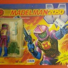 Madelman: MADELMAN 2050 LAGARD COMANDANTE PLANETA ZARKON CON COMIC REF.1600 EXIN 1988.NUEVO.. Lote 131190065