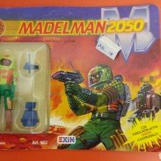 Madelman: MADELMAN 2050 REPTIS DRAGOMAN DEL GRAN CRÁTER ZARKON CON COMIC REF.1602 EXIN 1988.NUEVO.. Lote 148218490