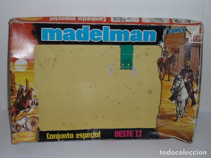 6055ad22e MADELMAN - CAJA VACÍA CONJUNTO ESPECIAL OESTE II (ORIGINAL DE LOS AÑOS 70).  S N