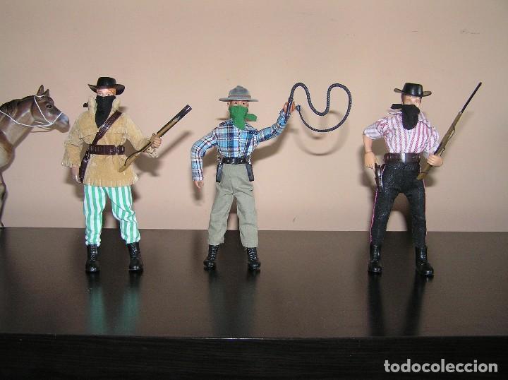 Madelman: Madelman MDE lote cuatreros del oeste. Vaqueros. Cawboy. Serie Far West - Foto 2 - 118753751