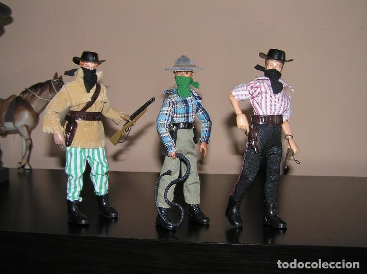 Madelman: Madelman MDE lote cuatreros del oeste. Vaqueros. Cawboy. Serie Far West - Foto 3 - 118753751