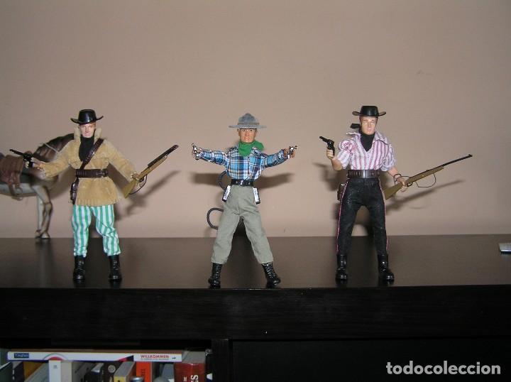 Madelman: Madelman MDE lote cuatreros del oeste. Vaqueros. Cawboy. Serie Far West - Foto 4 - 118753751