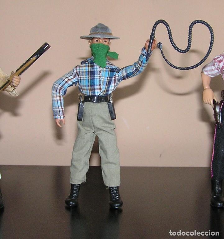 Madelman: Madelman MDE lote cuatreros del oeste. Vaqueros. Cawboy. Serie Far West - Foto 5 - 118753751