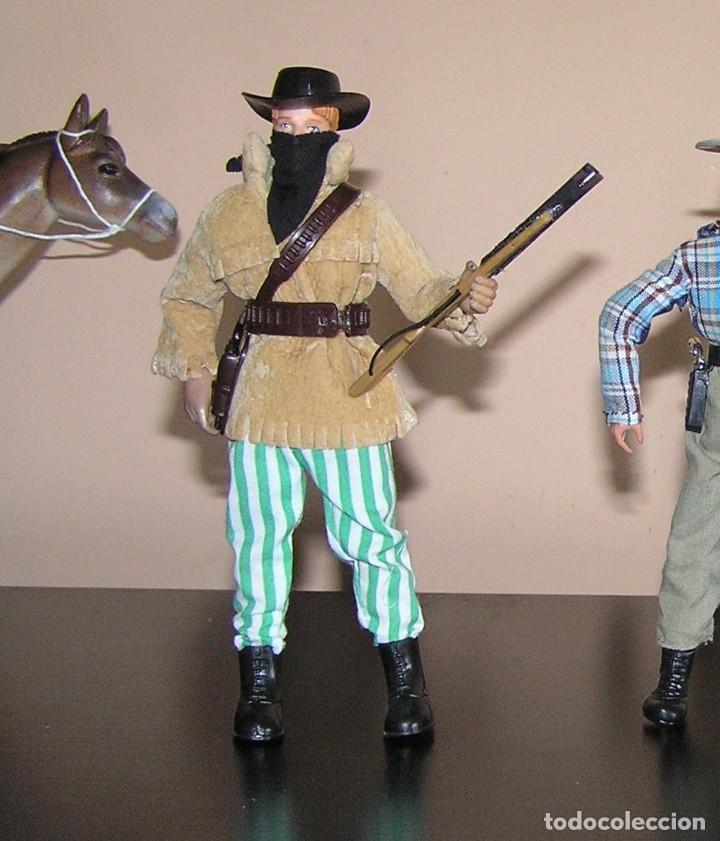Madelman: Madelman MDE lote cuatreros del oeste. Vaqueros. Cawboy. Serie Far West - Foto 6 - 118753751