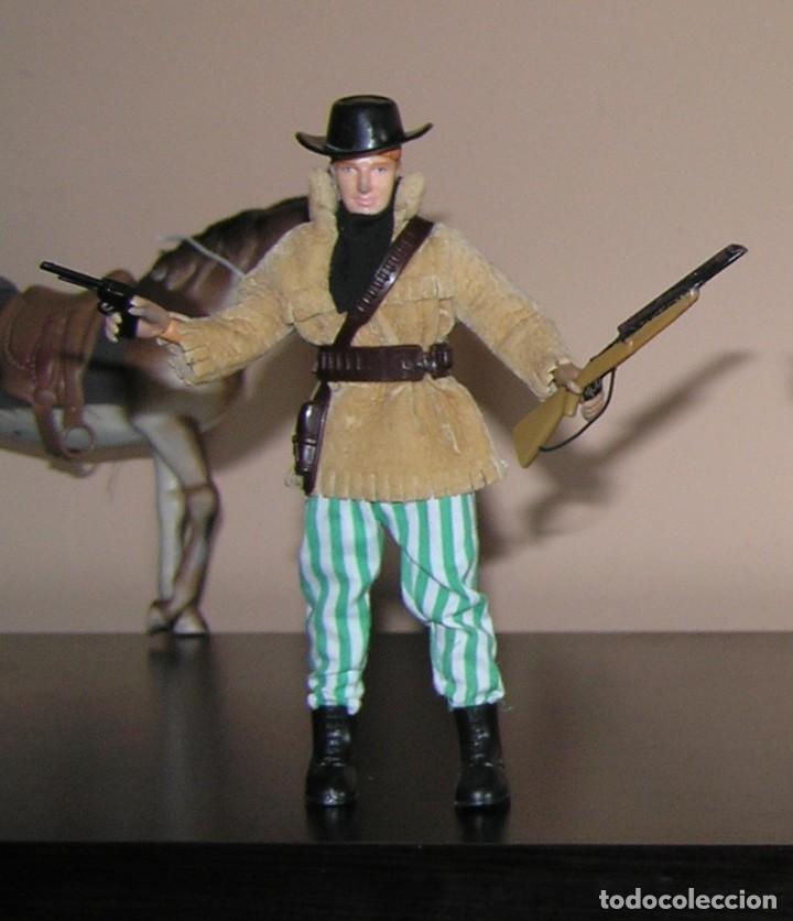 Madelman: Madelman MDE lote cuatreros del oeste. Vaqueros. Cawboy. Serie Far West - Foto 8 - 118753751