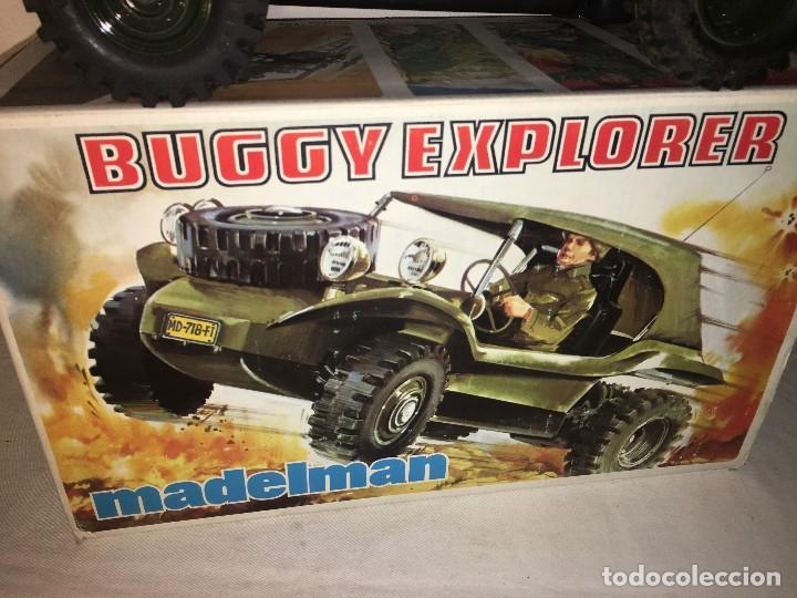 Madelman: ¡¡LOS ORIGINALES!! MADELMAN 100X100 ORIGINAL MADEL S.A 80 Buggy Explorer En su Caja Ref 718 SIN USO - Foto 8 - 119336811
