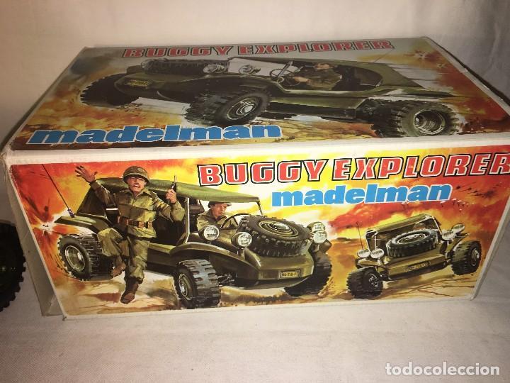 Madelman: ¡¡LOS ORIGINALES!! MADELMAN 100X100 ORIGINAL MADEL S.A 80 Buggy Explorer En su Caja Ref 718 SIN USO - Foto 22 - 119336811