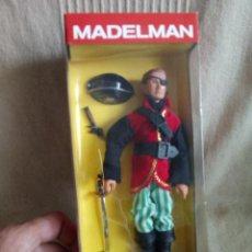 Madelman: MADELMAN CAPITAN PIRATA ALTAYA NUEVO EN CAJA COMPLETO IMPECABLE. Lote 120294911