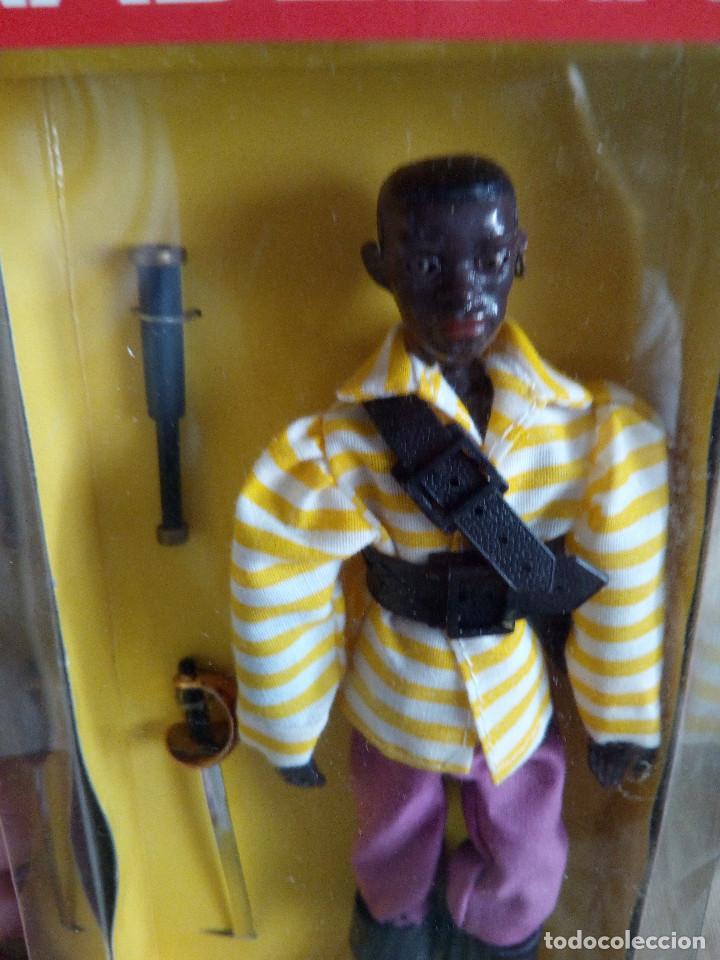 Madelman: Madelman pirata negro en caja sin abrir - Foto 2 - 120297891