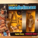 Madelman: CAJA MADELMAN PRINCESA INDIA MADELWOMAN EN CAJA ORIGINAL. Lote 124148427