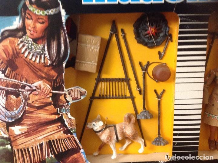 Madelman: CAJA MADELMAN PRINCESA INDIA MADELWOMAN EN CAJA ORIGINAL - Foto 3 - 124148427