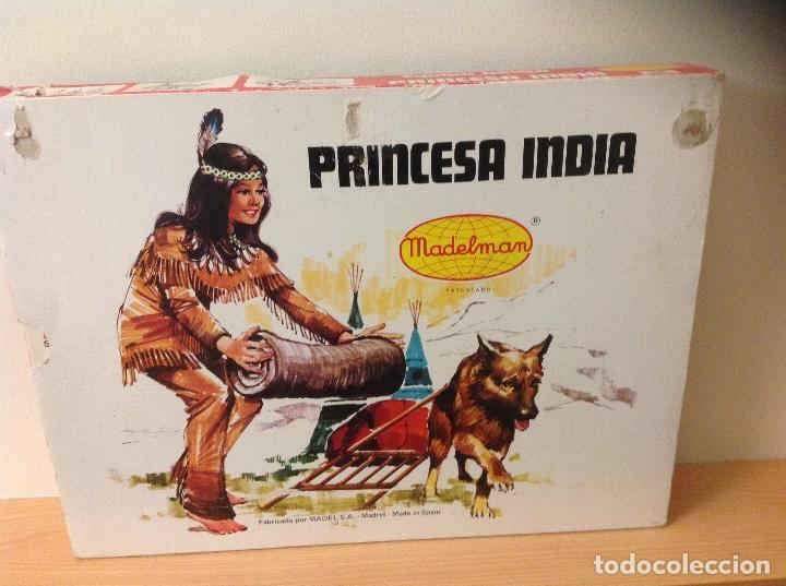 Madelman: CAJA MADELMAN PRINCESA INDIA MADELWOMAN EN CAJA ORIGINAL - Foto 4 - 124148427