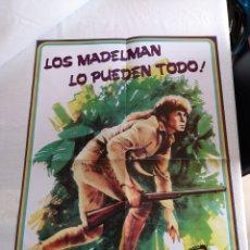 Madelman: MADELMAN REPRO POSTER CATÁLOGO -TRAMPERO-. Lote 126475330
