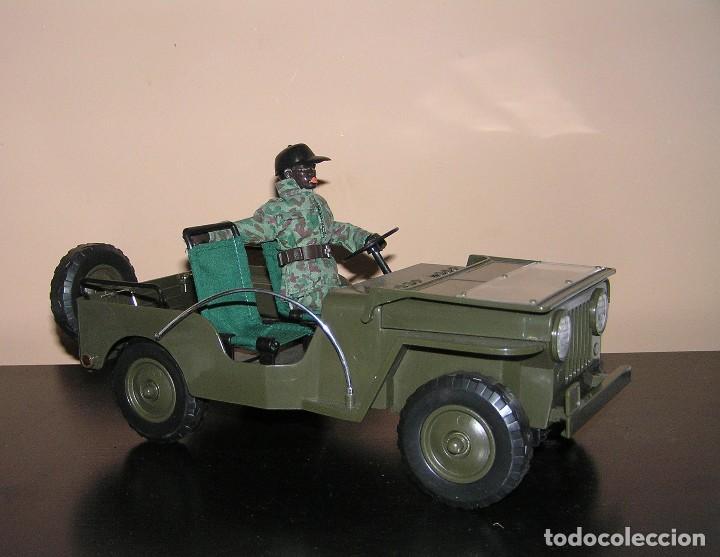 Madelman: Madelman MDE original. Coche jeep militar perfecto. Impecable. Sin estrenar. - Foto 4 - 130347986