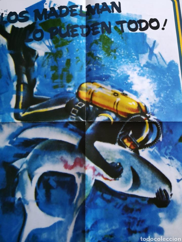 Madelman: MADELMAN REPRO POSTER CATÁLOGO - Submarinista- - Foto 3 - 127684447