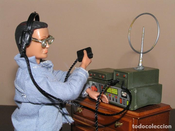MADELMAN MDE PRIMERA GENERACIÓN. RADIO DE CAMPAÑA CON AURICULARES Y MICRÓFONO CUSTOM (Juguetes - Figuras de Acción - Madelman)