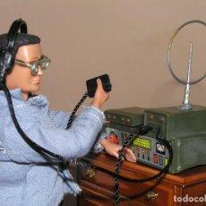 Madelman: MADELMAN MDE PRIMERA GENERACIÓN. RADIO DE CAMPAÑA CON AURICULARES Y MICRÓFONO CUSTOM. Lote 130317182