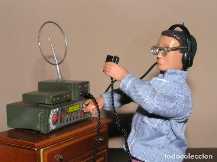 Madelman: Madelman MDE primera generación. Radio de campaña con auriculares y micrófono custom - Foto 4 - 130317182
