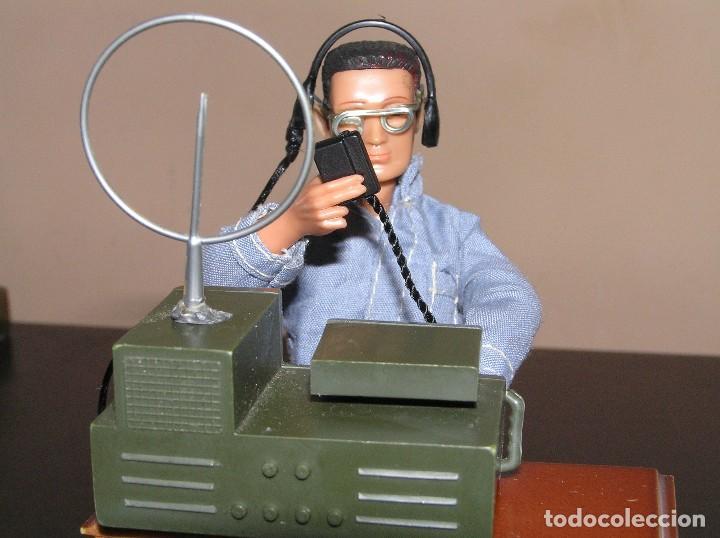 Madelman: Madelman MDE primera generación. Radio de campaña con auriculares y micrófono custom - Foto 5 - 130317182