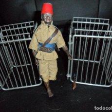 Madelman: MADELMAN NEGRO PORTEADOR + 2 JAULAS - 1ª GENERACION -. Lote 132451322