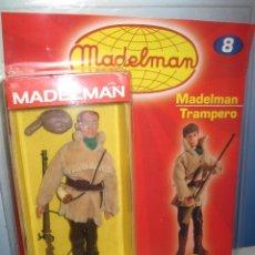 Madelman: MADELMAN TRAMPERO CON FASCICULO DE ALTAYA NUEVO EN CAJA. Lote 132793610