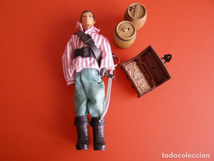 MADELMAN PIRATA SEGUNDA SERIE, TODO ORIGINAL. (Spielzeug - Actionfiguren - Madelman)