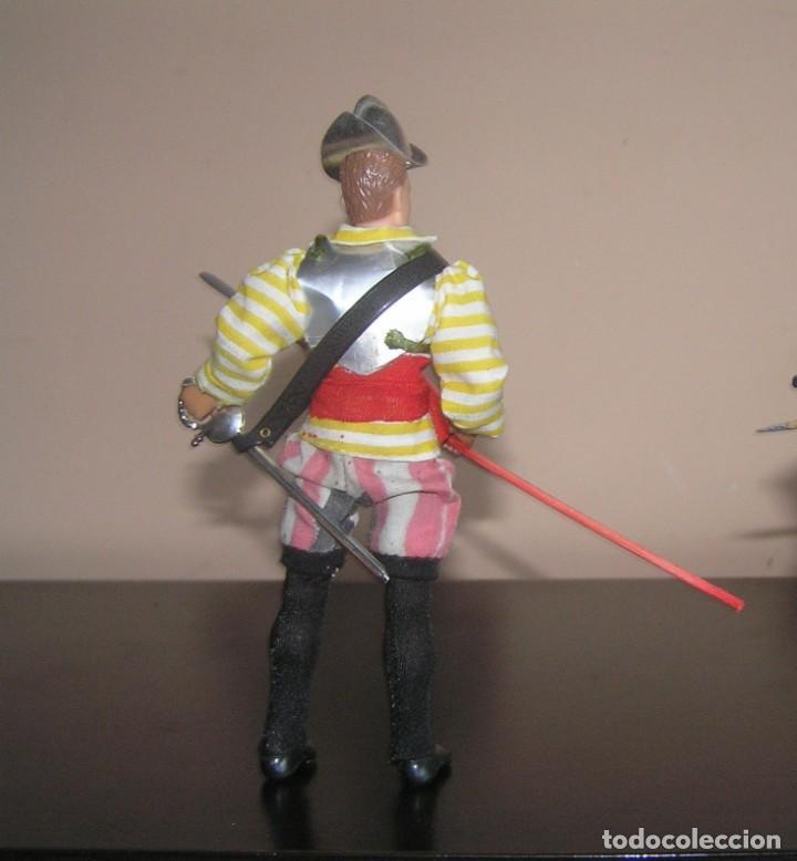 Madelman: Madelman MDE histórico. Soldado Español conquista de America. Hernán Cortes. Pizarro. Complicado - Foto 2 - 132908426