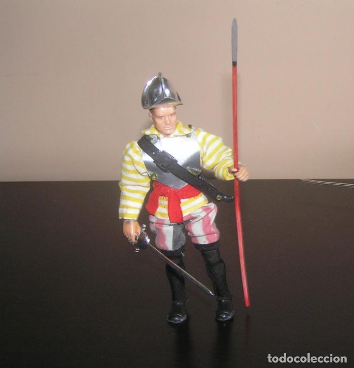 Madelman: Madelman MDE histórico. Soldado Español conquista de America. Hernán Cortes. Pizarro. Complicado - Foto 3 - 132908426