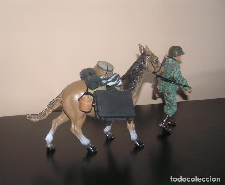 Madelman: Madelman MDE. Mula Asno con equipación. Accesorio ideal para oeste, militar, terrorista, etc. - Foto 2 - 132910254