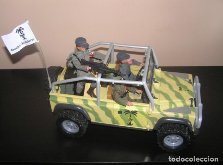 Madelman: Madelman MDE WWII Segunda Guerra Mundial. Lote Afrika Korps. Romel, jeep y soldados nazis. Histórico - Foto 4 - 133201514