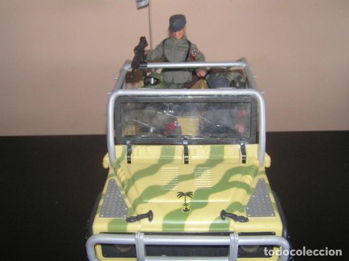 Madelman: Madelman MDE WWII Segunda Guerra Mundial. Lote Afrika Korps. Romel, jeep y soldados nazis. Histórico - Foto 5 - 133201514