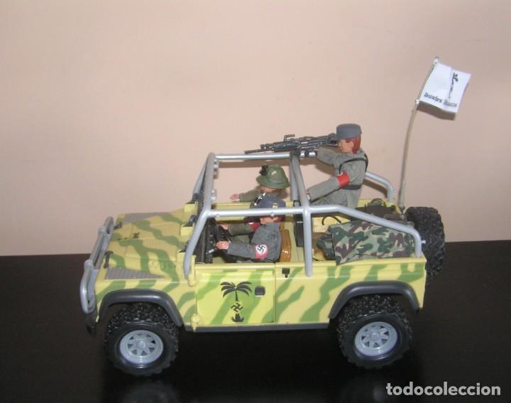 Madelman: Madelman MDE WWII Segunda Guerra Mundial. Lote Afrika Korps. Romel, jeep y soldados nazis. Histórico - Foto 6 - 133201514