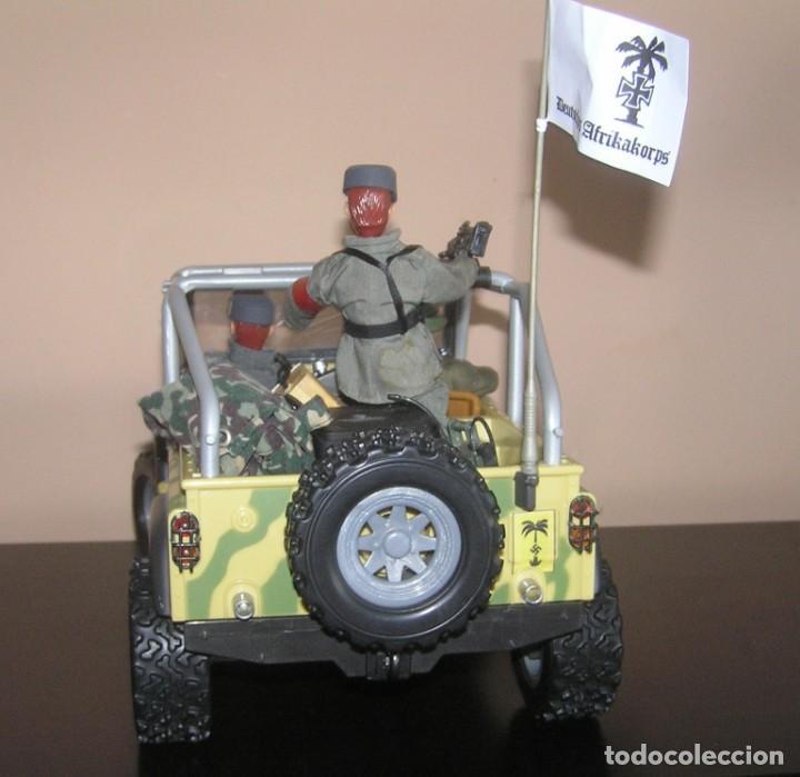 Madelman: Madelman MDE WWII Segunda Guerra Mundial. Lote Afrika Korps. Romel, jeep y soldados nazis. Histórico - Foto 8 - 133201514