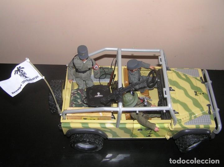 Madelman: Madelman MDE WWII Segunda Guerra Mundial. Lote Afrika Korps. Romel, jeep y soldados nazis. Histórico - Foto 10 - 133201514