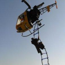 Madelman - Madelman MDE. Escalera de cuerda. Ideal para helicoptero, militar, medieval. Vale para Geyperman,etc - 133958442