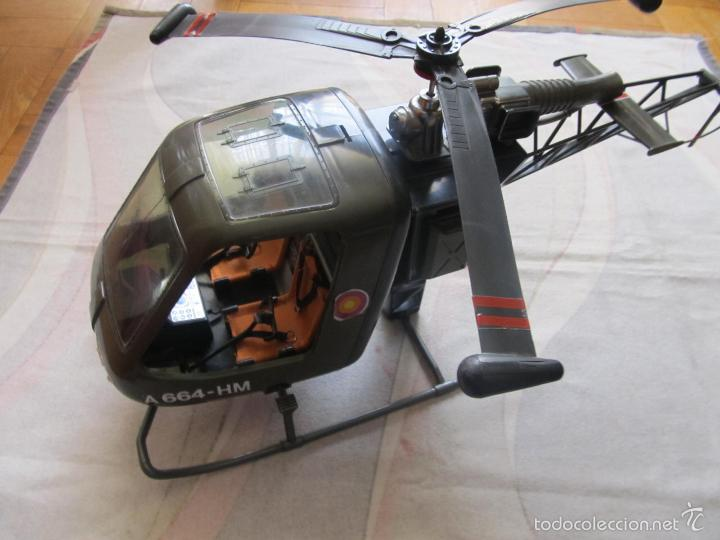 MADELMAN HELICOPTERO MILITAR A664 -HM (Toys - Action Figures - Madelman)