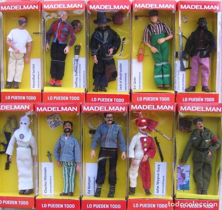 Madelman: Madelman MDE. Serie Criminologia: Historia de los asesinos en serie. Ed Kemper en caja. Histórico - Foto 3 - 135113770
