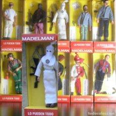 Madelman: MADELMAN MDE. SERIE CRIMINOLOGIA: ASESINOS EN SERIE. KU KLUX KLAN EN CAJA. KKK. HISTÓRICO. Lote 135114366