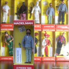 Madelman: MADELMAN MDE. SERIE CRIMINOLOGIA: HISTORIA DE LOS ASESINOS EN SERIE. CHARLES MANSON EN CAJA. Lote 151832992