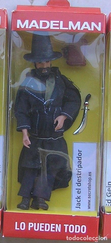 Madelman: Madelman MDE.Serie Criminologia: asesinos en serie.Jack el destripador en caja.Ripper. Histórico - Foto 2 - 135114566