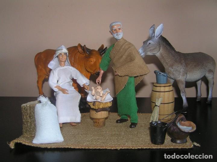 Madelman: Madelman MDE. Diorama. Ideal Escaparate. Historico. Nacimiento pesebre Belen, Navidad. Madelwoman - Foto 3 - 139550570