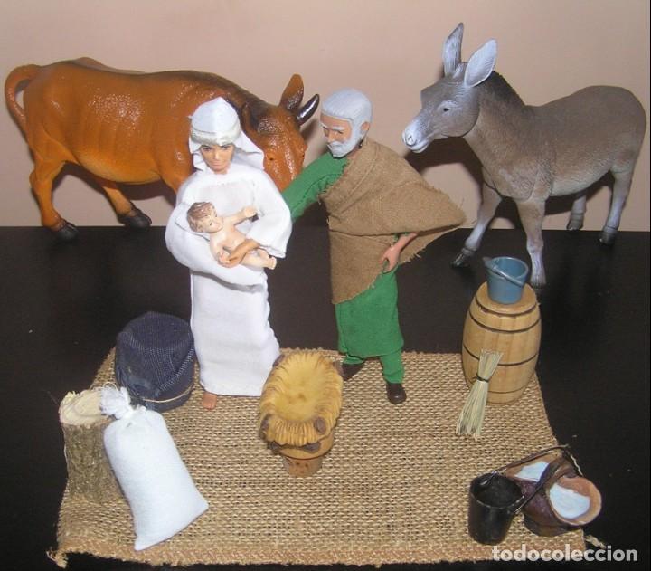 Madelman: Madelman MDE. Diorama. Ideal Escaparate. Historico. Nacimiento pesebre Belen, Navidad. Madelwoman - Foto 4 - 139550570