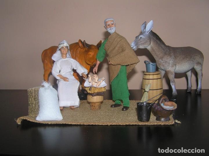 Madelman: Madelman MDE. Diorama. Ideal Escaparate. Historico. Nacimiento pesebre Belen, Navidad. Madelwoman - Foto 5 - 139550570