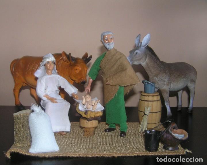 Madelman: Madelman MDE. Diorama. Ideal Escaparate. Historico. Nacimiento pesebre Belen, Navidad. Madelwoman - Foto 7 - 139550570