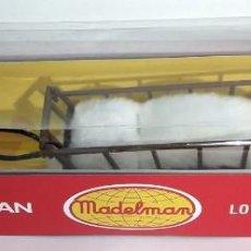 Madelman: MADELMAN ALTAYA TRINEO NUEVO EN CAJA, NÚMERO 18. Lote 140936038