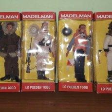 Madelman: LOTE 6 MADELMAN ALTAYA,POLAR,PORTAAVIONES,TRAMPERO,BUZO,ESPELEOLOGO,SAFARI. Lote 143147654